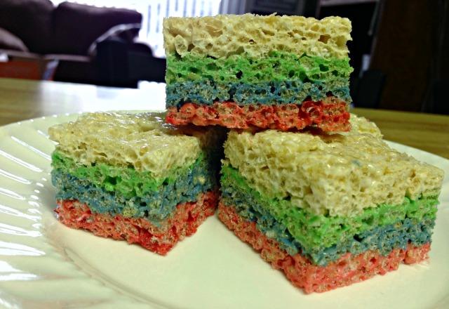 Rainbow Krispies