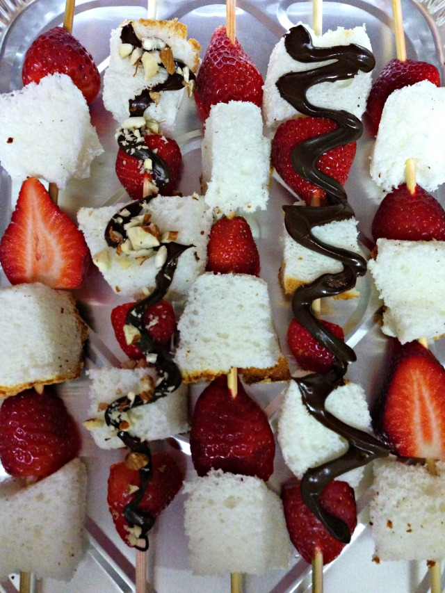 Strawberry Angel Kabobs