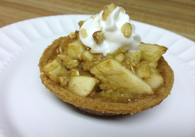 Graham Cracker Apple Pie