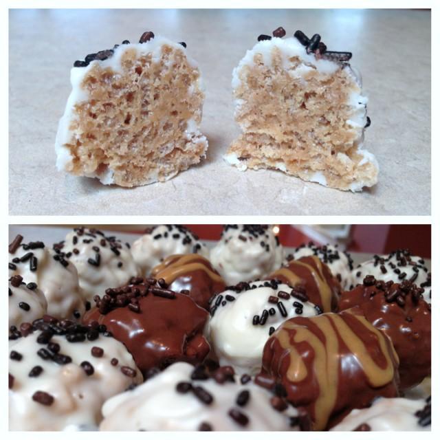 Crispy Peanut Butter Truffles