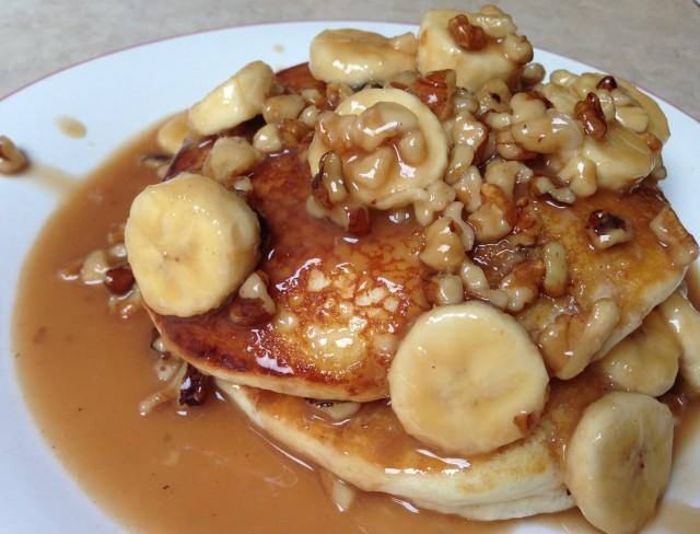 Banana Nut Pancakes | Miss Chris Creations